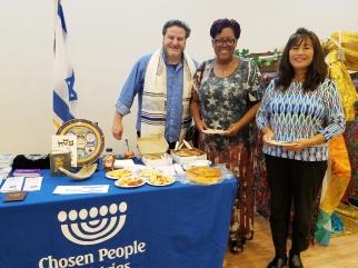 Ari Hauben (L) from Chosen People Ministries.