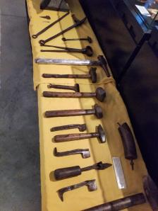 Early-era tools donated to Museum.