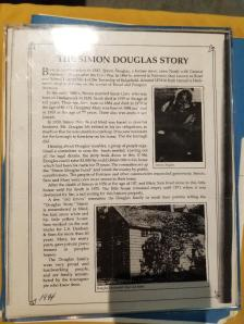 Dr. Simon Douglas Story at the African American Museum.