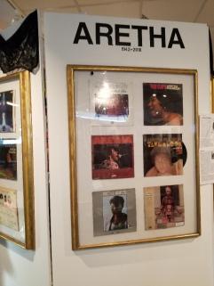 African American Musem Aretha Franklin Exhibit.