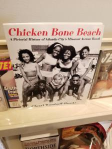 Display of Missouri Avenue Beach book.